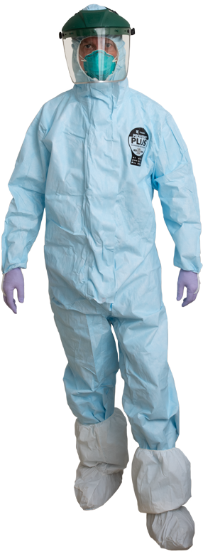 ProVent Plus protective suit offers biohazard protection to meet CDC guidelines
