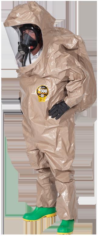 Rear Entry Zytron 300 NFPA 1992 splash protective total encapsulating suit