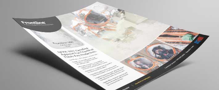 Download a pdf of the Kappler Frontline 500 informational flyer